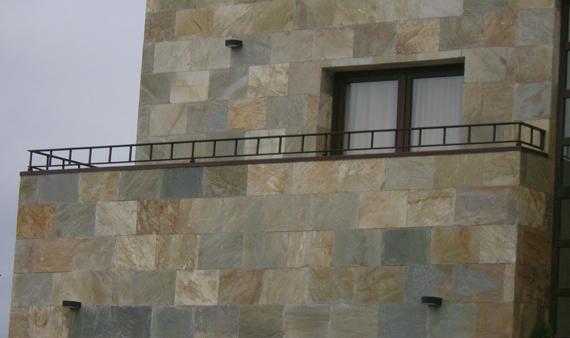 Chapado de fachada m rmoles y granitos peruma salamanca - Recubrimiento de fachadas ...